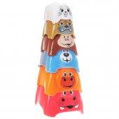 Playgo Neşeli Hayvanlar Kulesi