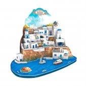 129 Parça Puzzle Santorini Island