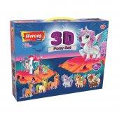 3d Pony Oyun Hamuru Seti