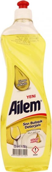 Güleç Ailem Limon Kokulu Sıvı Bulaşık Deterjanı 750 Gr