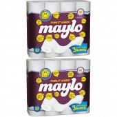 Maylo Üç Katlı Tuvalet Kağıdı 2 X 32 Rulo