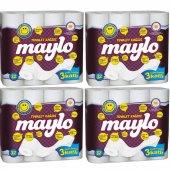 Maylo Üç Katlı Tuvalet Kağıdı 4 X 32 Rulo