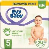 Evy Baby Bebek Bezi 5 Beden Junior 24 Adet (Yeni)
