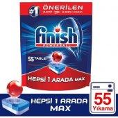 Finish Hepsi Bir Arada 55 Tablet Bulaşık Makinesi Deterjanı
