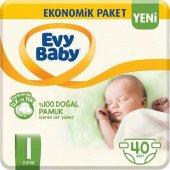 Evy Baby Bebek Bezi 1 Beden Yenidoğan Fırsat Paketi 40 Adet