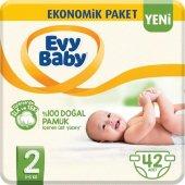 Evy Baby Bebek Bezi 2 Beden Mini Fırsat Paketi 42 Adet