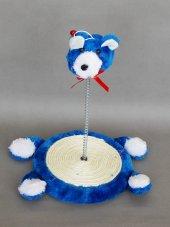 Eastland Yaylı Peluş Ayıcık Kedi Oyuncağı 26 cm