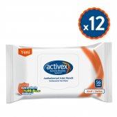 Activex Antibakteriyel Islak Mendil Aktif 12li...