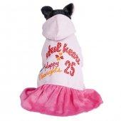 Köpek Kıyafeti Q1-006 L Kapşonlu