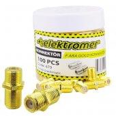 F Ara Gold Konnektör Elektromer (100 Adet)...