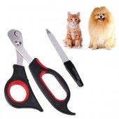 Rewel Kedi Köpek İçin Tırnak Makası Ve Törpü...
