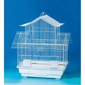 Kafes 1708 R Papağan Siyah Çin Evi 47x36x61 Cm