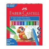 Faber Castell Super Comfort Keçeli Kalem 12 Renk