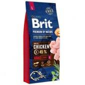 Brit Premium Nature Tavuklu Büyük Irk Yetişkin...