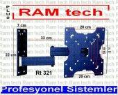 RAMtech RT-321pro 22 inç İLE 42 inç ARASI TEK KOLLU HAREKETLİ ASKI APARATI LCD LED PLAZMA 1025-3