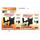 RAMtech RT-321pro 22 inç İLE 42 inç ARASI TEK KOLLU HAREKETLİ ASKI APARATI LCD LED PLAZMA 1025-7