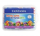 Fantasıa 18 Renk Pastel Boya Plastik Kutulu