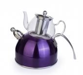 Acar Paslanmaz Çelik Düdüklü Çaydanlık