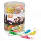 Karlie Kedi Oyuncağı Plastik Karides 6 Cm 60lı