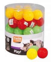 Karlie Kedi Oyuncağı Plastik Top 5 Cm 60lı