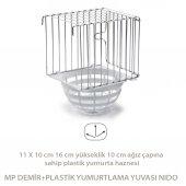 Mp Demir+plastik Yumurtlama Yuvası Nıdo