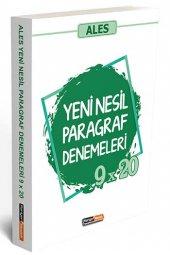 Kariyer Meslek Yayınları 2020 Ales Yeni Nesil Paragraf 9x20 Denemeleri