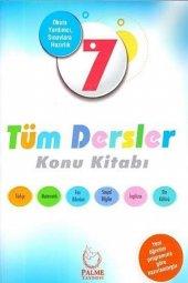 Palme Yayınları 7.sınıf Tüm Dersler Konu Kitabı