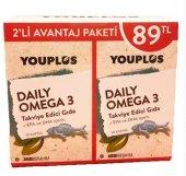 You Plus Daily Omega 3 Balık Yağı 30 Kapsül 2 Al 1 Öde