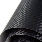 Siyah Karbon Kaplama 152 Cm X 127 Cm