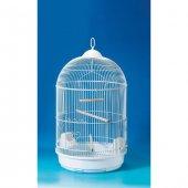 Qiheng Pet Products Yuvarlak Kuş Kafesi Boyalı...