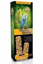 Gold Wings Premium Muhabbet Kuşlari Için Balli Kraker 2li
