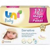 Uni Baby Sensitive Islak Bebek Havlusu 56 Lı 12...