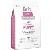 Brit Care Puppy Tahilsiz Somonlu Yavru Köpek...