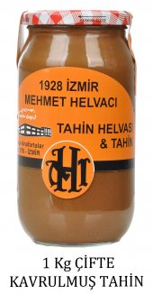 1928 Mehmet Helvacı Çifte Kavrulmuş Tahin, 1 Kg...