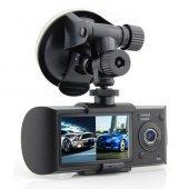 Gps Destekli Hd Araç İç Ve Dış Kamerası 2.7 İnç...