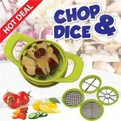 Chop & Dice Yeni Nesil Meyve Sebze Dilimleyici