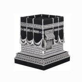 Kabe İ Muazzama Biblo Gümüş Renk 9 X 11 Cm