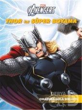 Beta Marvel Thor İle Süper Boyama Çıkartma Birl