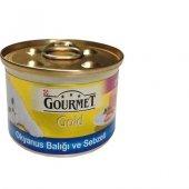 Gourmet Gold Okyanus Balıklı Sebzeli Kedi...