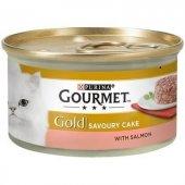 Gourmet Gold Savoury Cake Somonlu Kedi...