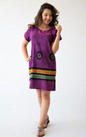 Filizer Kadın Mor Bluz Tunik 204