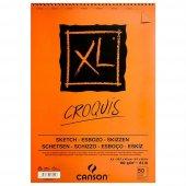 Canson Xl Croquis 90gr. 50yp. A3 Eskiz Defteri