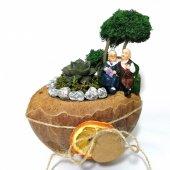 Birlikte Yaşlanalım Minyatür Bahçede Sukulent...