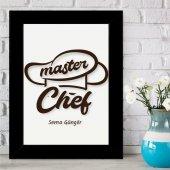 Kişiye Özel Master Chef Çerçeveli Pano