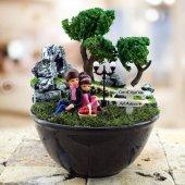 Kişiye Özel Aşk Bahçesi Mini Teraryum