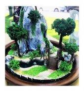 Bekleyen Aşık Minyatür Bahçe Porselen