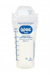 Wee Baby Anne Sütü Saklama Poşeti 25 Adet 350 ml