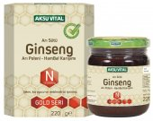 Aksuvital Arı Sütü Bal Polen Ginseng 220 Gr