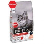 Proplan Adult Somonlu Ve Pirinçli Yetişkin Kedi Maması 3 Kg Skt 09.2021