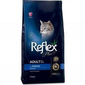 Reflex Plus Somonlu Yetişkin Kedi Maması 15 Kg
